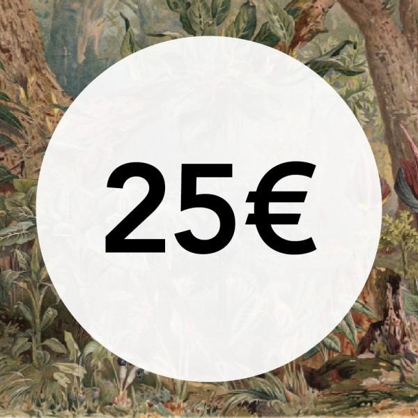 25€ Gift Card