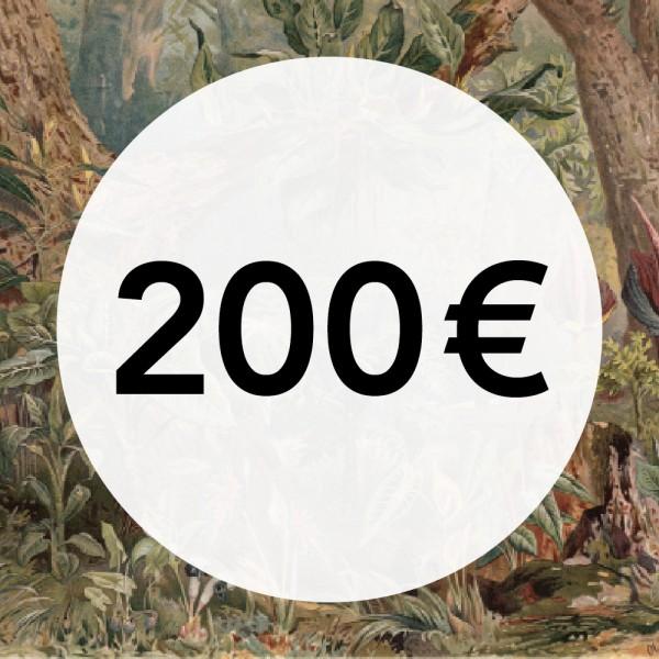 200€ Gutschein